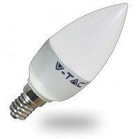 Λαμπτήρας Κερί LED 3W E14 V-TAC
