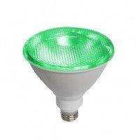 Λαμπτήρας LED PAR38 E27 Πράσινη 10W 42V Diolamp
